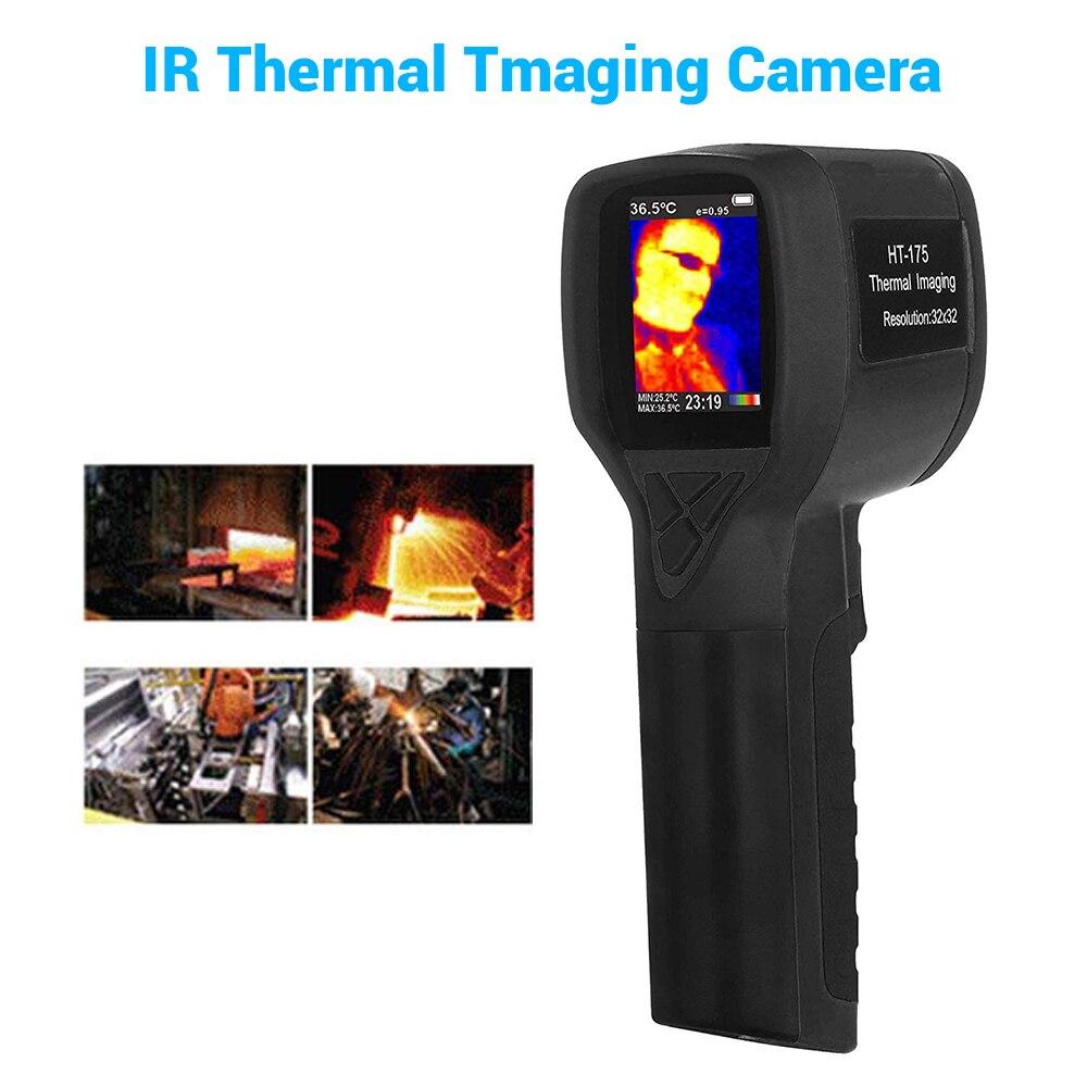 يده الأشعة تحت الحمراء كاميرا تصوير حراري اللون الرقمي عرض HT-175 1024P عالية الدقة درجة حرترة تحت الحمراء صورة التصوير الحراري