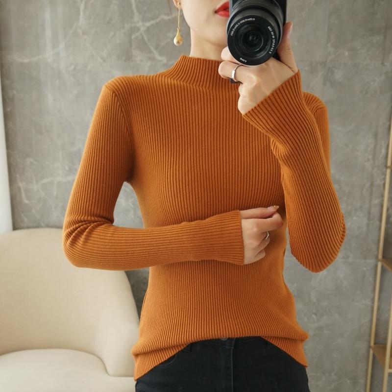Новинка 2021, женские кашемировые свитера, женские пуловеры, модные осенне-зимние кашемировые свитера, женские свитера