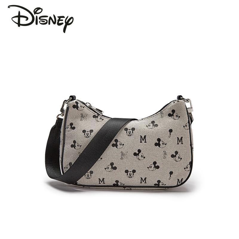 Disney 2021 New Cartoon Mickey Lady Shoulder Bag Fashion Casual Large-capacity Storage Bag Luxury High-quality Messenger Bag
