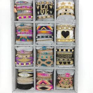 BLUESTAR 2021 Women Bracelet Turkish Eye Bracelets Shell Leopard Grain Pulseras Mujer Femme Crystal Jewelry Zircon Handmade