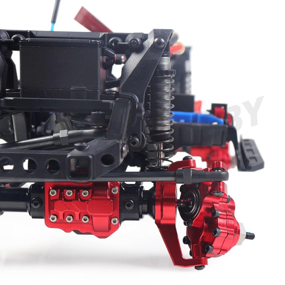 TRX-4 Aluminum Portal Axle Housing for 1/10 RC Crawler Car Traxxas TRX4 Defender Bronco G500 Chevrolet Metal Upgrade Parts enlarge