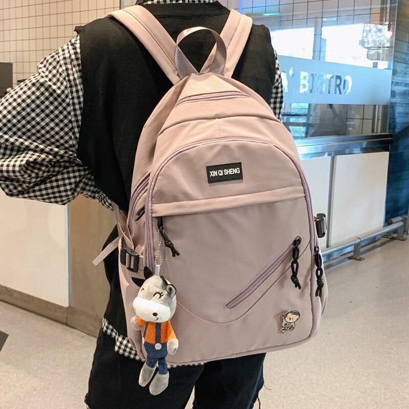 JULYCCINO Luxury Ladies Cute Backpack For Women Waterproof Backpack Female Kawaii Backpack Student Laptop Fashion Book Bag Nylon рюкзак xiaomi 90 points commuter ladies backpack laptop waterproof nylon bag blue