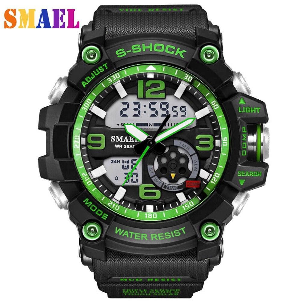 2019 reloj G estilo moda Digital relojes deportivos para hombres reloj de pulsera militar del ejército Erkek Saat reloj resistente a golpes reloj de cuarzo