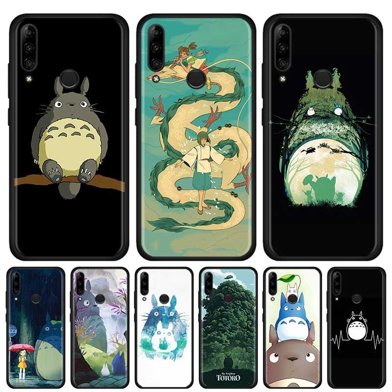 Anime Totoro Ghibli espíritu de silicona suave funda de teléfono para Lenovo Z6 Lite K10 más Z6 Pro 5G K10 A6 nota Z6 funda de la juventud Shell