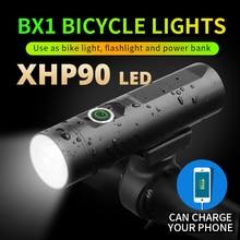 Più Potente 3200 Mah P90 P50 L2 Torcia Elettrica per La Bicicletta T6 Luce Usb Batteria Ricaricabile Bici di Riciclaggio Accessori Come Potere banca