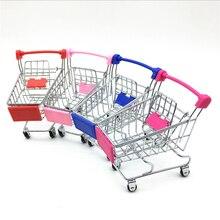 Boîte de rangement de 120 pièces   Mini chariot de supermarché, chariot de courses, Simulation du petit panier de courses, chariot utilitaire, faire semblant de jouets de jeu