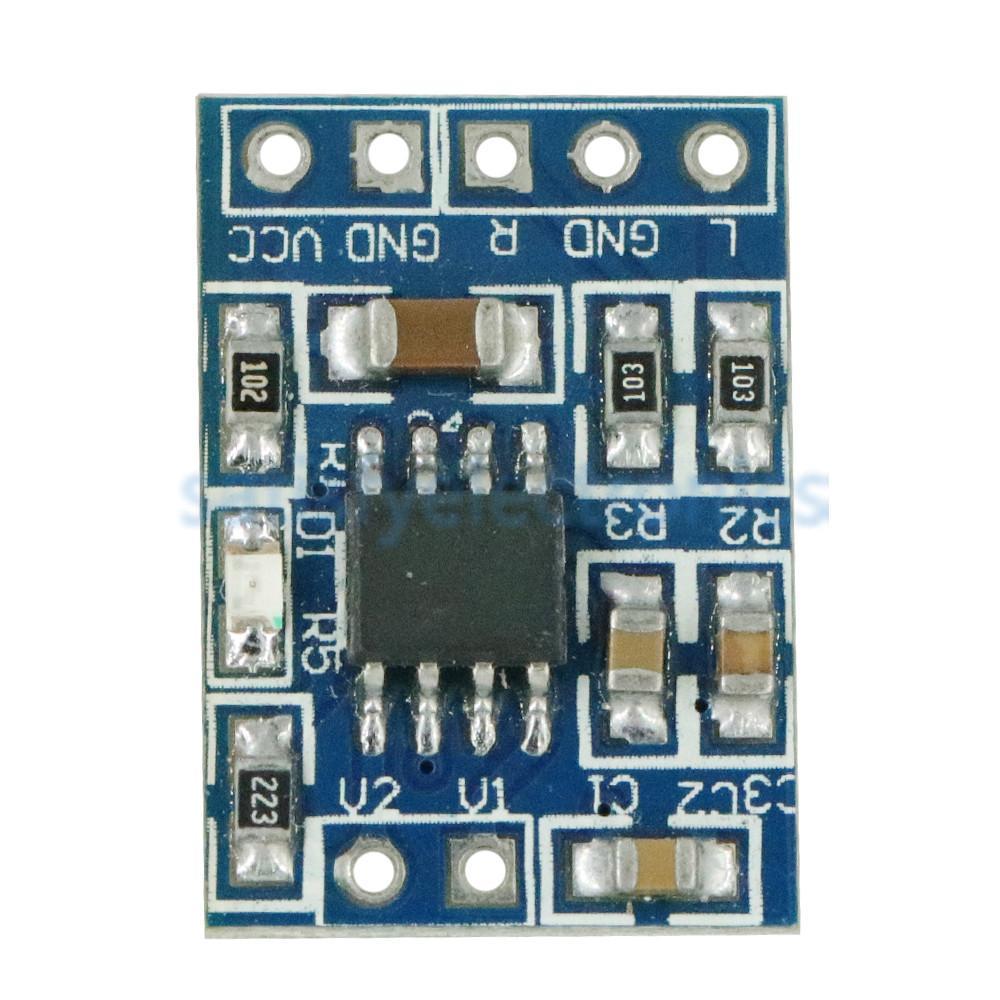 Super Mini HXJ8002 Audio Power Amplifier Board Mono Channel Voice low noise Amplifiers Module 2.0-5.5V Replace PAM8403
