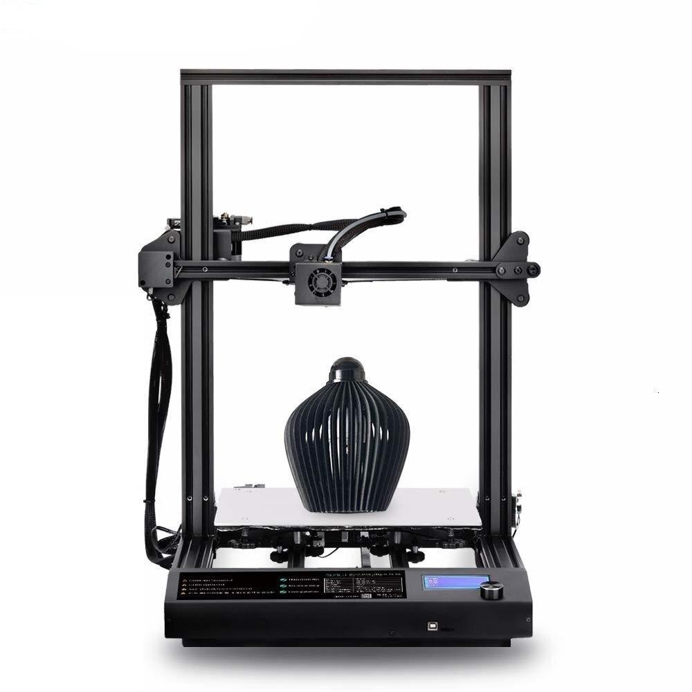 FDM 3D принтер, большой размер печати, работает автоматически, США, Великобритания, адаптер, 3D Экструдер, сделай сам, изящное оформление 310x310x400mm