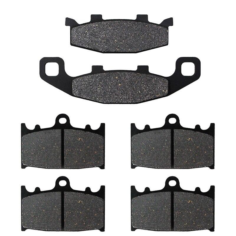 Motorcycle Front and Rear Brake Pads for Kawasaki ZX1100 ZX 1100 ZX11 Ninja 1100 1990 1991 1992 1993