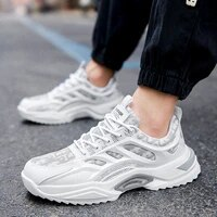 mens sneakers casual breathable walking shoes running sports shoes zapatillas hombre