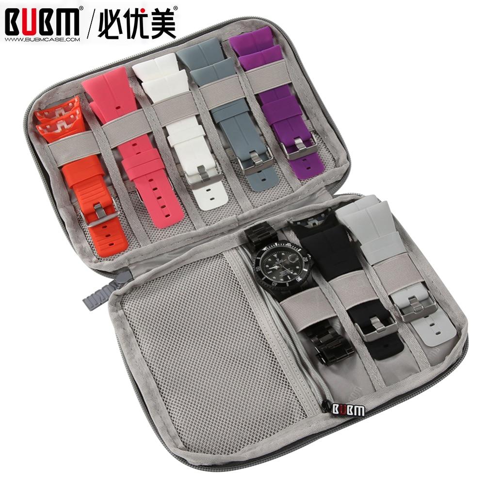 Multifunction Portable Watch Strap Organizer Watch Band Box Storage Bag Watchband Holder Watch Trave
