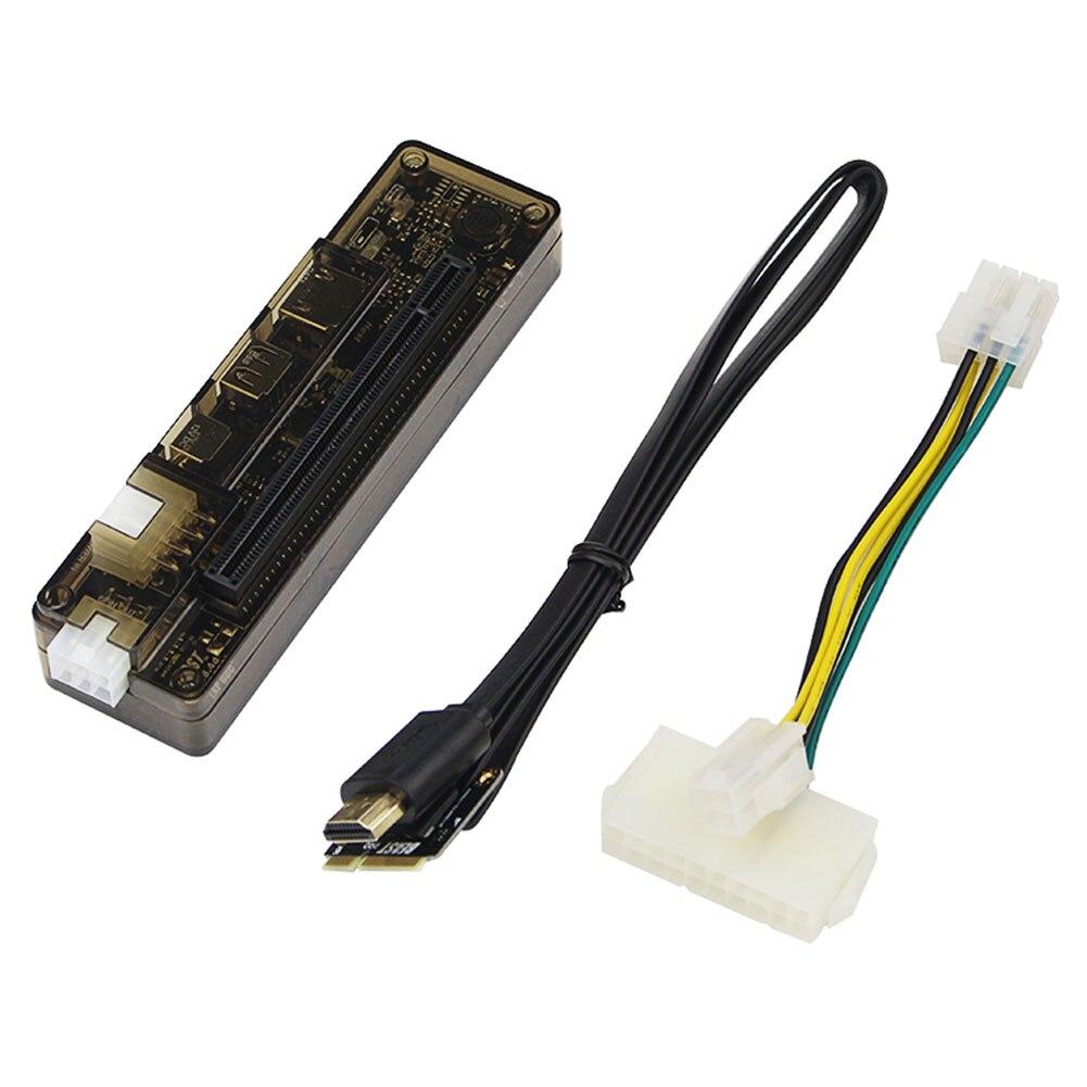 PCIe PCI-E EXP GDC portátil externo tarjeta de vídeo Dock/estación de acoplamiento de ordenador portátil