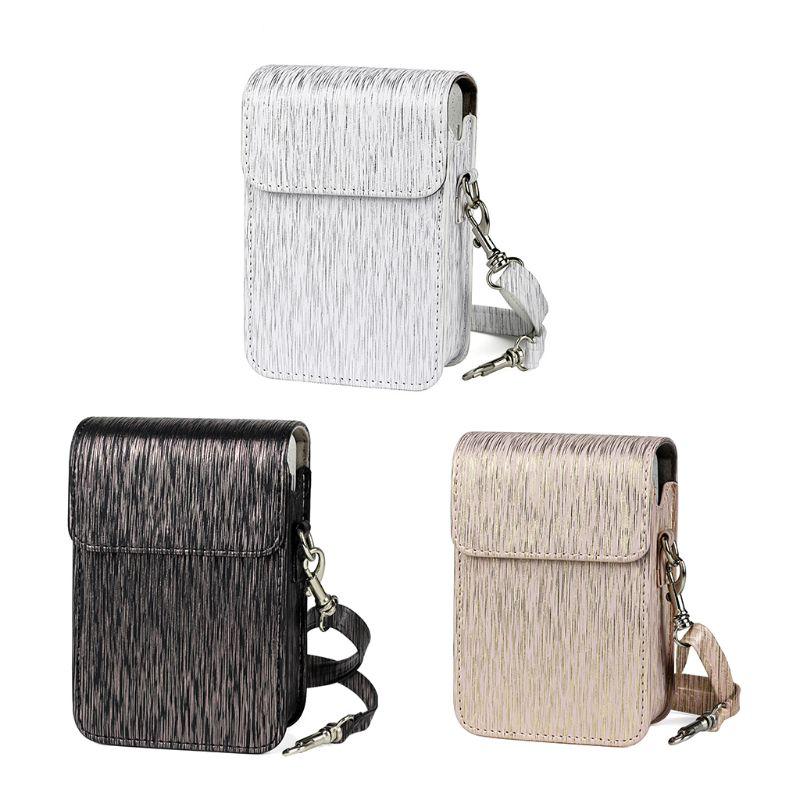 Чехол для переноски из искусственной кожи, сумка на плечо для Fujifilm Mini Liplay camera D08A