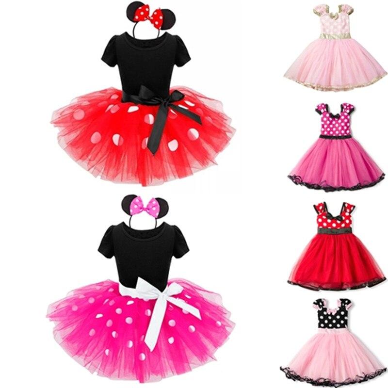 Páscoa cosplay minnie mouse fantasiar-se fantasia crianças meninas vestir traje crianças 2 6 t vestir princesa parque de diversões mickey mouse conjunto