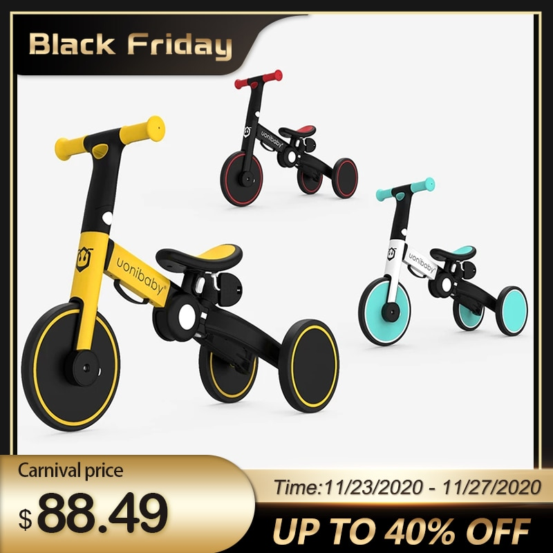 Children Bicycle Tricycle Child Bike Foldable Baby Balance Bicycle 5-in-1 Children's Scooter Kids Walker for 1-6 Years Old infant shining two wheels balance bike 4 6 years old children walker 12 inch riding bicycle height adjustable kids scooter
