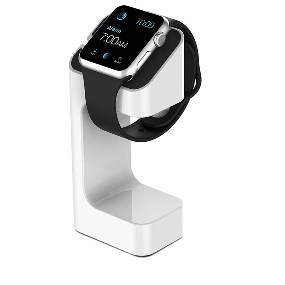 Carga para apple watch soporte para Apple Watch 5 4 3 2 1 iWatch 42mm 38mm 44mm accesorios smart watch soporte de estación negro blanco
