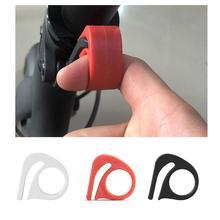 Para xiaomi m365 scooter elétrico dobrável chave fixadores chave dobrável botão de loop proteger gancho dedo alavanca liberação rápida