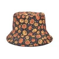 summer foldable bucket hat unisex women outdoor sunscreen cotton print fishing hunting cap men basin chapeau sun prevent hats