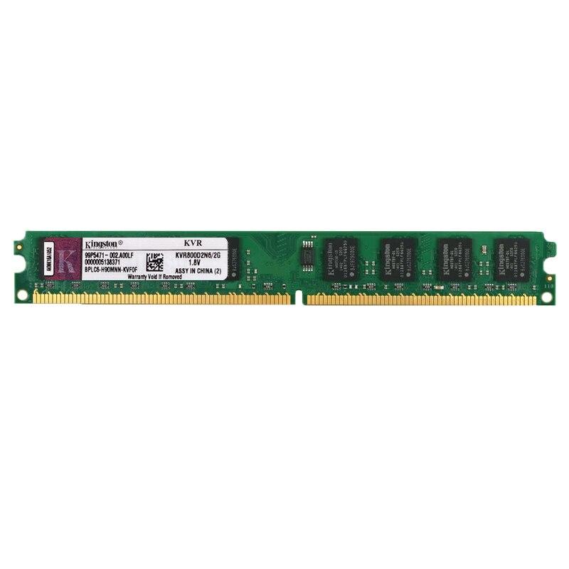 Kingston PC Memoria RAM Memoria para computadora de escritorio de PC2 DDR2...