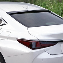 For Roof Spoiler Wing Lexus ES Series  ABS Plastic Car Window Rear Lip ES200 ES260 ES300h Tail FIN A