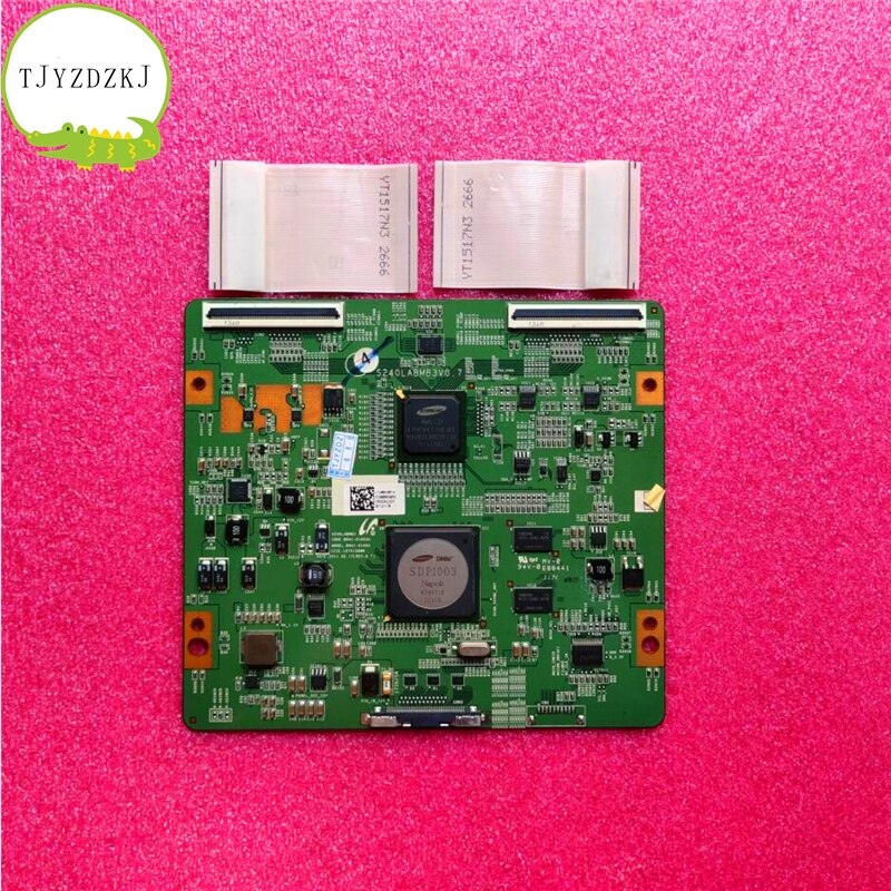 Good test for logic board BN41-01663A S240LABMB3V0.7 BN95-00500A UE46D8000 LTJ460HQ01-H UA46D7000LJ T-CON BOARD UE46D700ls недорого