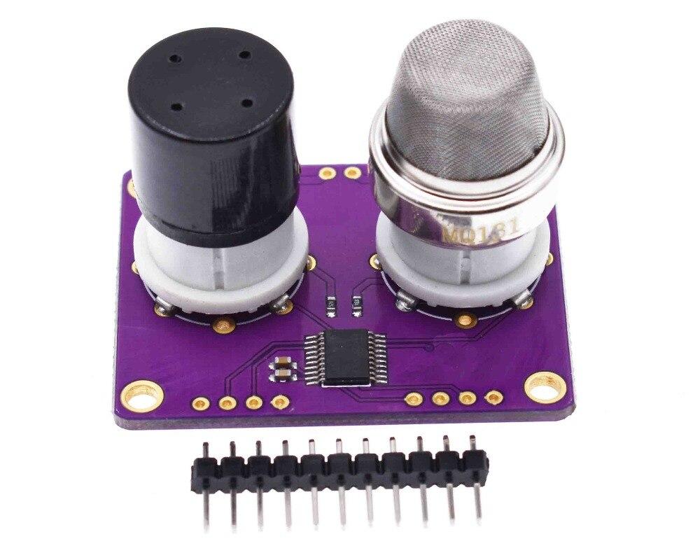 CJMCU-131 MQ131 la concentración de ozono sensor de alta y baja concentración O3 de la calidad del aire de detección