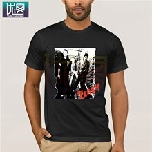 The Clash New 2019 Fashion T Shirt Crew Neck Clash Short Sleeve Printing Machine T Shirts For Men Funny Tees Cotton Tops T Shirt