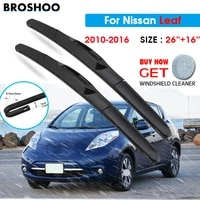 car wiper blade for nissan leaf 2616 2010 2016 windscreen windshield wipers blades window wash fit u hook arms