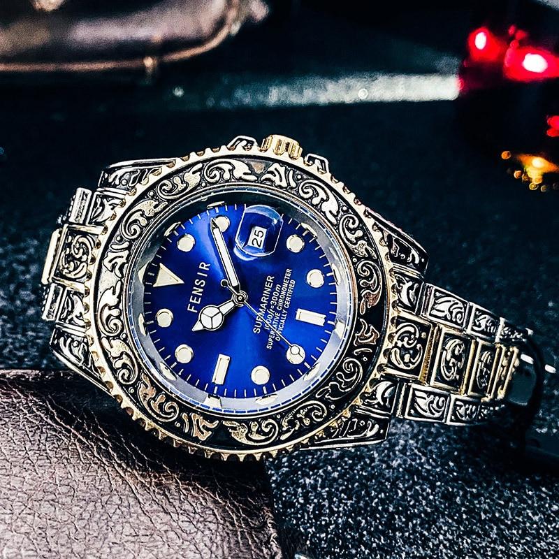 2021FENSIR Luxury Designer Brand Waterproof Simple Fashion Trend Luminous men's Quartz Watch