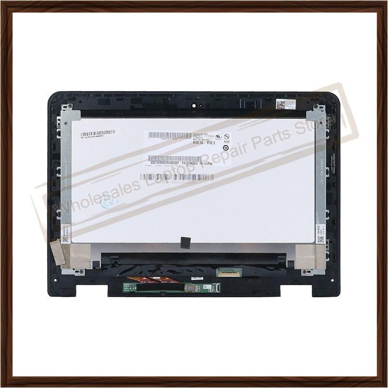 شاشة LCD أصلية 11.6 بوصة لجهاز Lenovo Thinkpad Yoga 11e Chromebook B116XAN04.0, شاشة LCD أصلية جديدة لجهاز Lenovo Thinkpad Yoga 11e Chromebook B116XAN04.0 ، مجموعة محول رقمي مع إطار