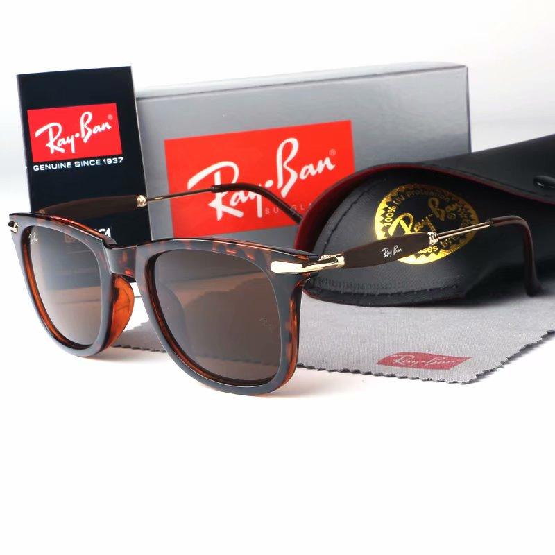 With Box Designer For Sunglasses Vintage Men Women Pilot Brand Band UV400 Protection Ben wayfarer su