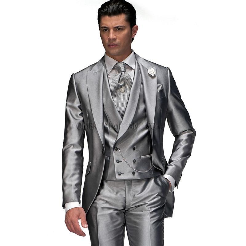 بدلة رجالية ، عصرية ، زر ، راحة للعريس ، بدلة زفاف مخصصة ، بدلة رجالية فاخرة