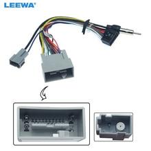 LEEWA harnais de fil dautoradio 16pin   Pour Honda 14-17, Fit City Greiz adaptateur de câble dalimentation Audio # CA3413
