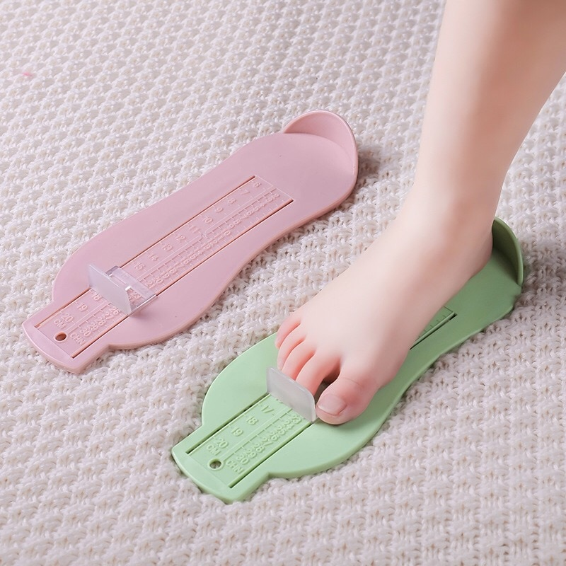 3 Colors Baby Foot Ruler  Shoes Size Measuring Calculator Device Growing Infant Foot Measure Gauge T