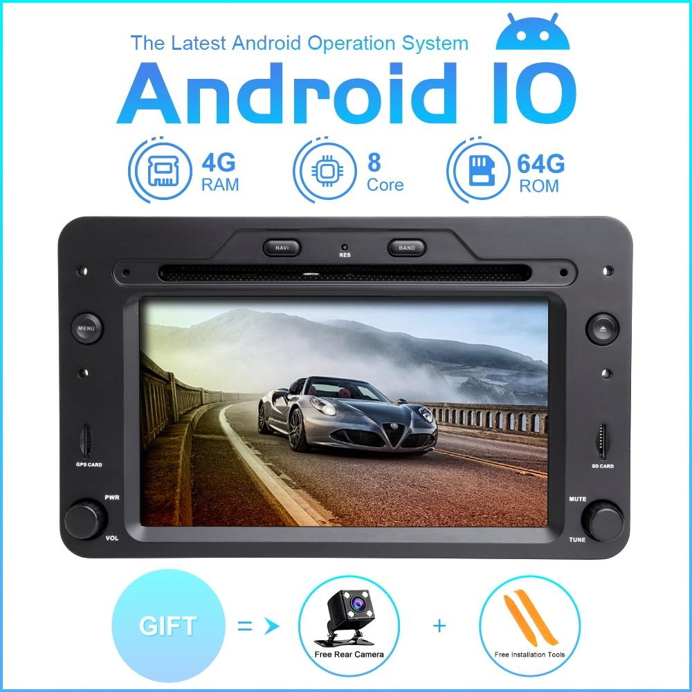 ZLTOOPAI Octa Core 1 Din Android 10, Radio automática para Alfa Romeo Spider Brera 159, reproductor Multimedia para coche Sportwagon GPS DSP SWC