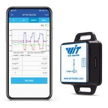 WitMotion WT901BLECL BLE 5.0 accéléromètre 3 axes basse consommation + Gyroscope + magnétomètre MPU9250 pour IOS/Android, 50 mètres de portée