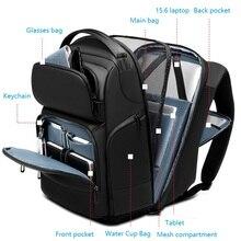 Sac à dos pour ordinateur portable étanche 15.6 15 pouces hommes noir grand sac à dos sac de voyage en plein air sac à dos mâle grand sac de voyage 2020