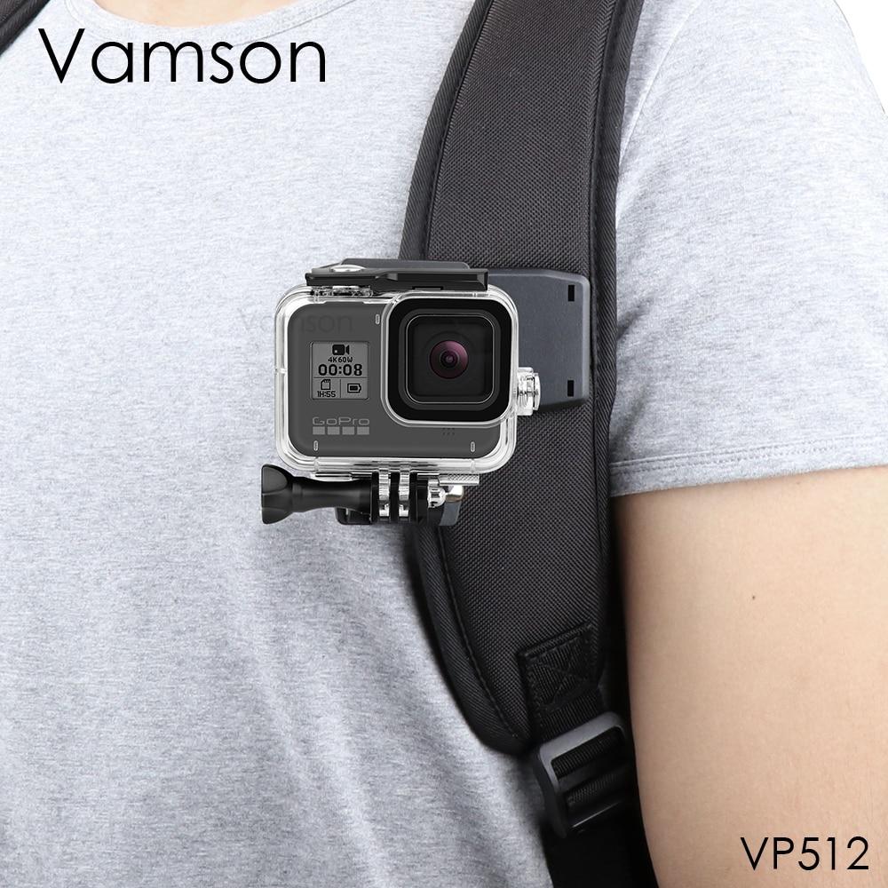 Vamson-accesorios para GoPro 9, 8, Clip de mochila, montaje de abrazadera para...