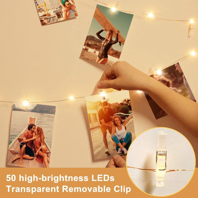 10 մ USB փառատոն LED փերի լույսեր - Տոնական լուսավորություն - Լուսանկար 4