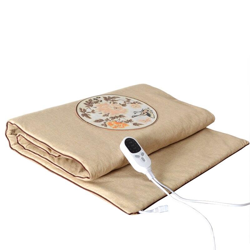 Manta eléctrica de tamaño completo, Manta caliente y suave para camas, calentador...