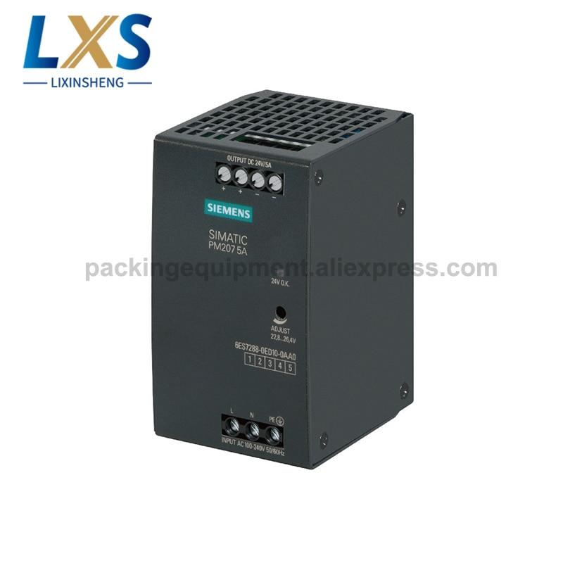 سيمنز PM207 الصناعية تحويل امدادات الطاقة 24V 5A مع S7-200 الذكية PLC 6ES7288-0ED10-0AA0
