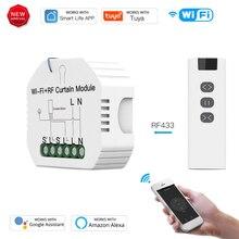 Tuya WIFI-RF télécommande commutateur de rideau bricolage maison intelligente fenêtre électrique rouleau module de store travailler avec alexa Amazon google maison