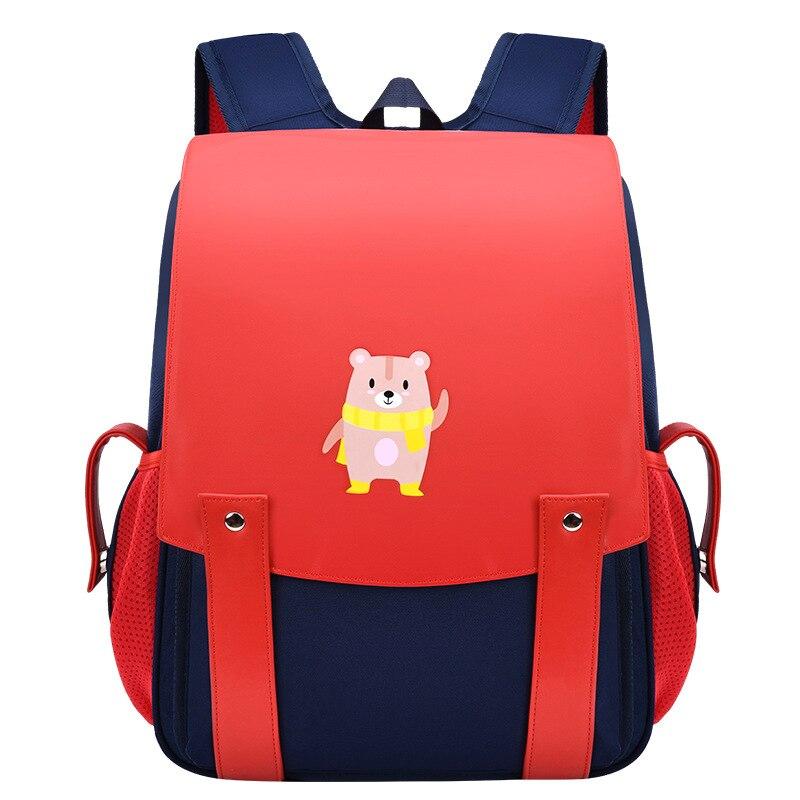 Детские школьные ранцы для мальчиков и девочек, Популярные Рюкзаки для начальной школы для подростков с милым медведем, Детские Мультяшные ...