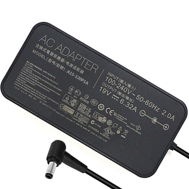 شاحن التيار المتردد لأجهزة الكمبيوتر المحمول Asus ، كابل محول الطاقة لأجهزة الكمبيوتر المحمول Asus N750J N750JK N751JX N752 N580VN N580VD
