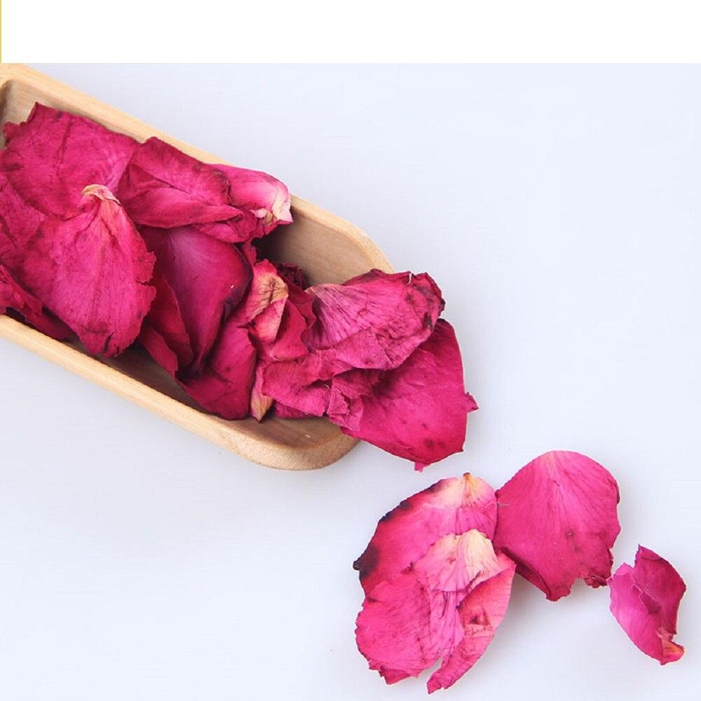 500g وردة مجففة بتلات للشاي بتلات الورد الزهور حمام الشاي النساء الجمال سبا