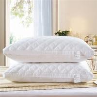 1pc 3D white sleep pillow neck pillows for home hotel health sleeping pillows rectangle shape 48*74cm high quality home textile