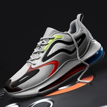 New Men's Sky Eye Full Palm Air Cushion Sports Shoes,Fashion Outdoor Youth Shock Absorption Comprehe