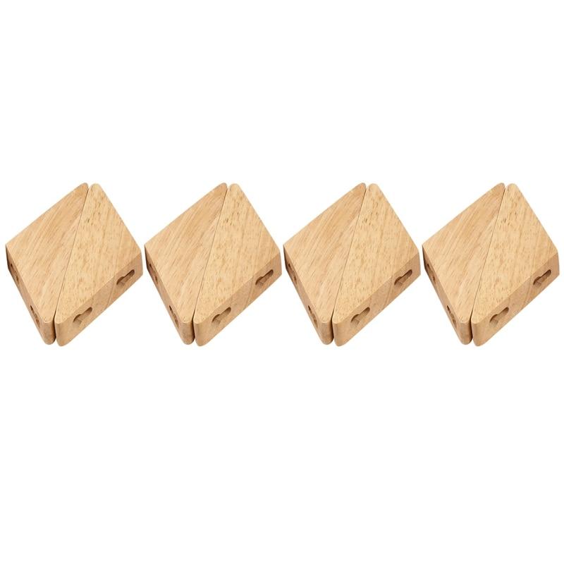 8 قطعة شماعات ملابس الخشب الطبيعي الحائط خطاف تعليق المعاطف الزخرفية حامل مفتاح قبعة وشاح حقيبة يد تخزين شماعات رف حمام