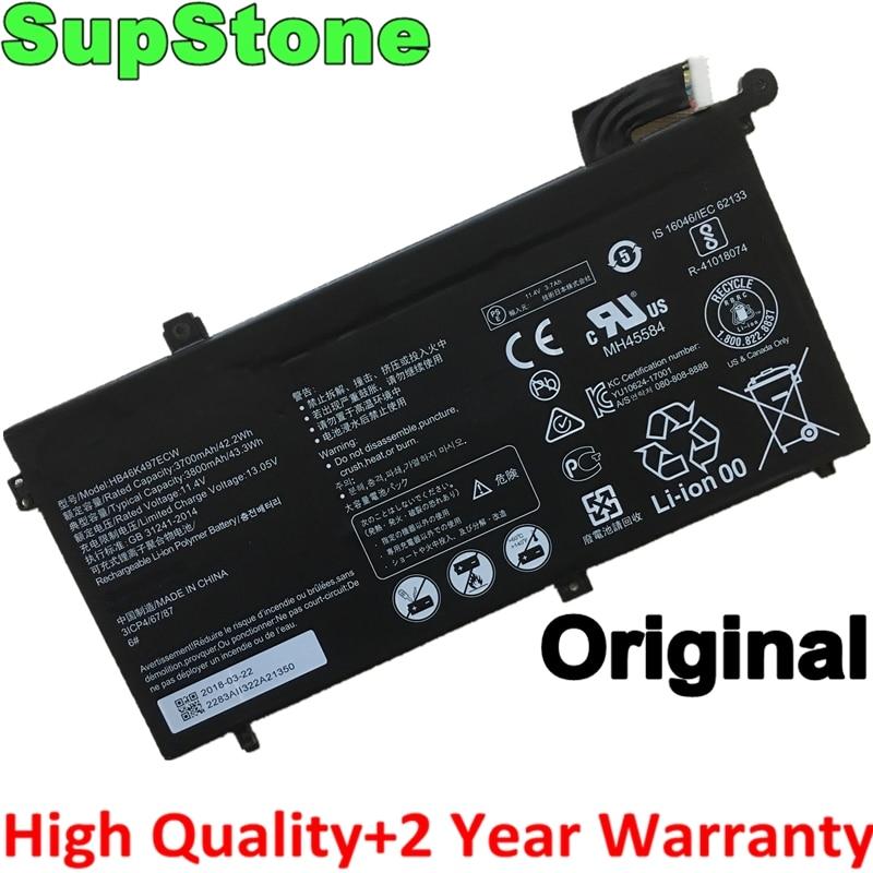SupStone حقيقية الأصلي جديد HB46K497ECW بطارية كمبيوتر محمول لهواوي Matebook D 2018 PL-W19 MRC-W60