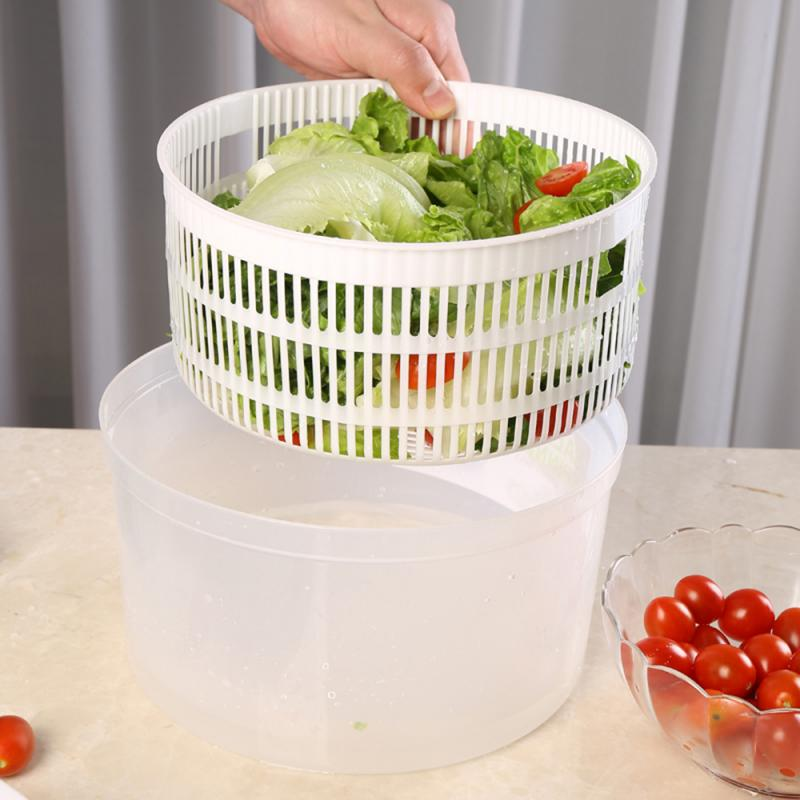 Werkzeug Salat Schüssel Riesen Spinner Salat Küche Werkzeug Küche Zubehör Gemüse Und Obst Trockner Gadget Cocina